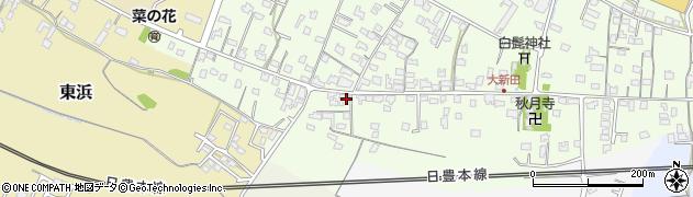 大分県中津市大新田935周辺の地図
