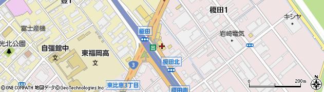 スズキハウス九州周辺の地図