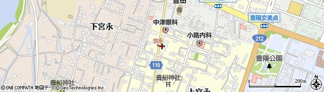 大分県中津市上宮永60周辺の地図
