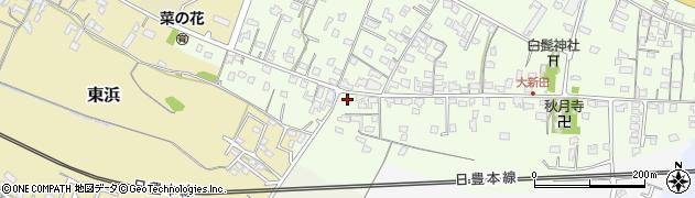 大分県中津市大新田933周辺の地図