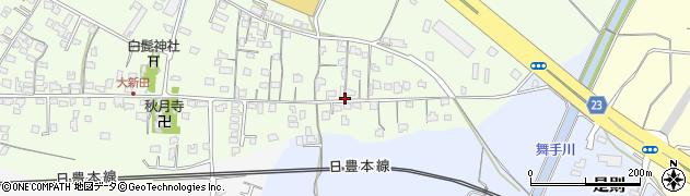 大分県中津市大新田633周辺の地図