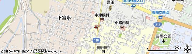 大分県中津市上宮永58周辺の地図