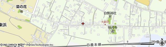 大分県中津市大新田775周辺の地図