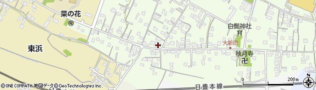 大分県中津市大新田797周辺の地図