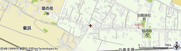 大分県中津市大新田819周辺の地図