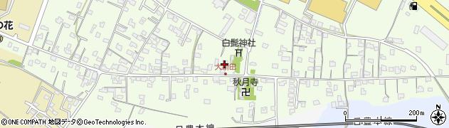 大分県中津市大新田743周辺の地図
