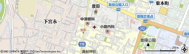 大分県中津市上宮永62-8周辺の地図