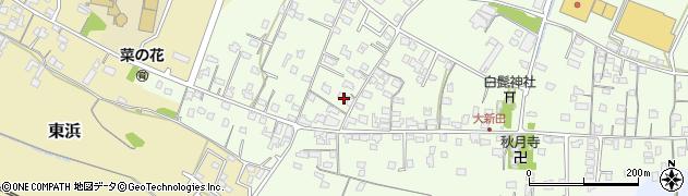 大分県中津市大新田799周辺の地図