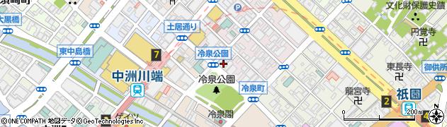 パッケージプラザ・シキ博多店周辺の地図