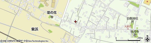 大分県中津市大新田862周辺の地図