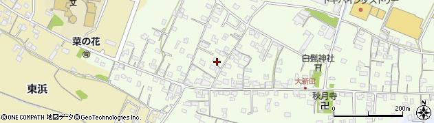 大分県中津市大新田801周辺の地図