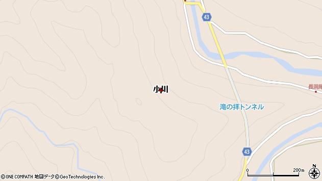 〒649-4216 和歌山県東牟婁郡古座川町小川の地図