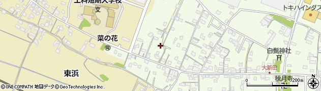 大分県中津市大新田864周辺の地図