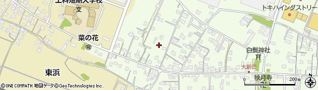 大分県中津市大新田843周辺の地図