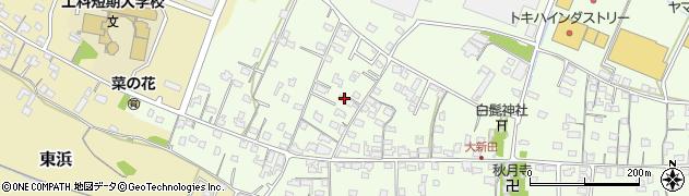 大分県中津市大新田814周辺の地図