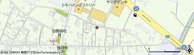大分県中津市大新田686周辺の地図