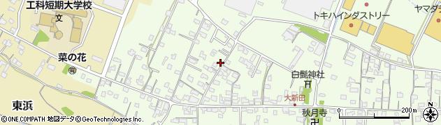 大分県中津市大新田804周辺の地図