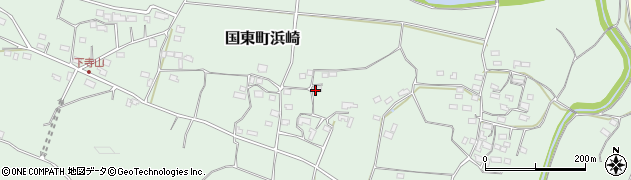 大分県国東市国東町浜崎1000周辺の地図
