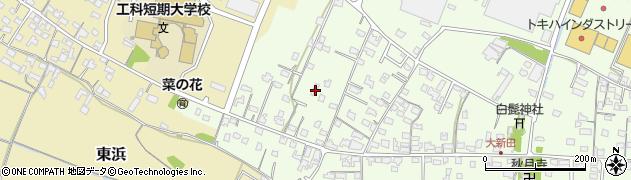 大分県中津市大新田854周辺の地図