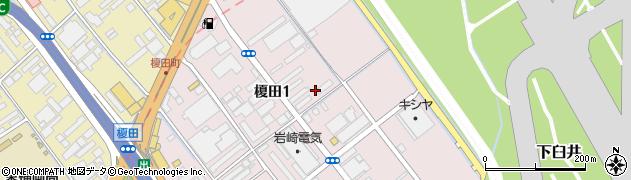 福山通運アパート周辺の地図
