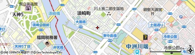 ヤマサ醤油株式会社 福岡営業所周辺の地図