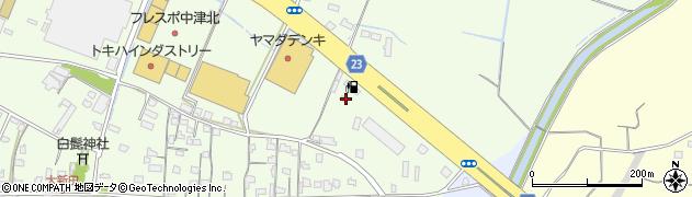 大分県中津市大新田89周辺の地図