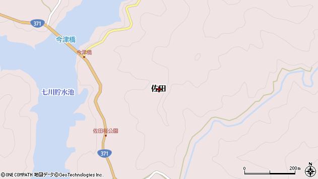 〒649-4442 和歌山県東牟婁郡古座川町佐田の地図