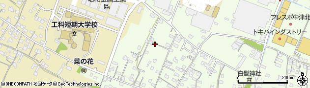 大分県中津市大新田856周辺の地図