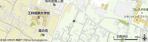 大分県中津市大新田866周辺の地図