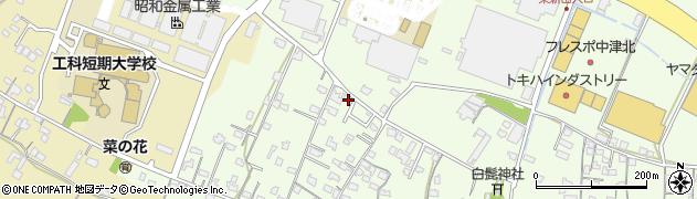 大分県中津市大新田811周辺の地図
