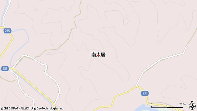 〒649-5134 和歌山県東牟婁郡那智勝浦町南大居の地図
