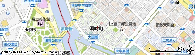 サマンサジャパン株式会社 福岡支社周辺の地図