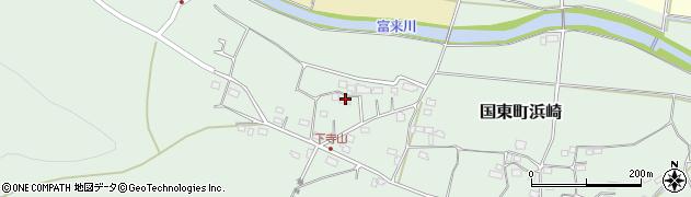 大分県国東市国東町浜崎145周辺の地図