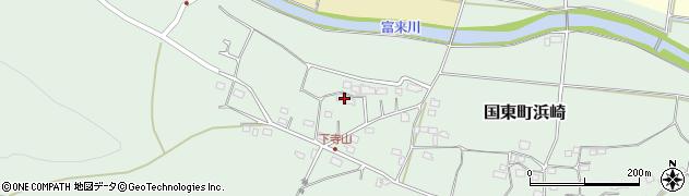 大分県国東市国東町浜崎144周辺の地図