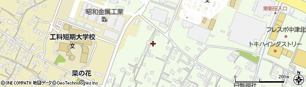 大分県中津市大新田868周辺の地図