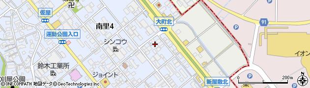 アラヤ塗装工事株式会社周辺の地図