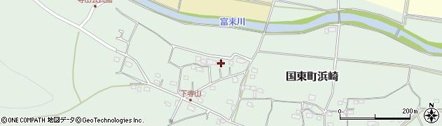 大分県国東市国東町浜崎160周辺の地図