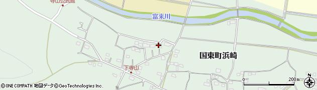 大分県国東市国東町浜崎158周辺の地図