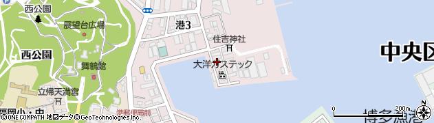 株式会社大京周辺の地図