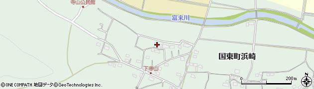 大分県国東市国東町浜崎164周辺の地図
