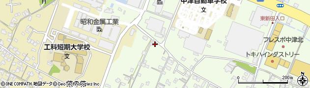 大分県中津市大新田870周辺の地図