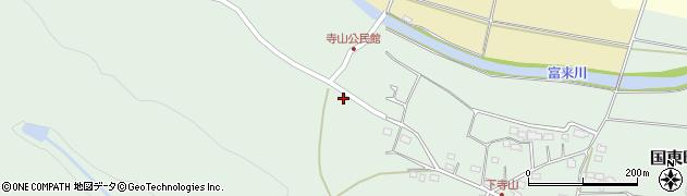 大分県国東市国東町浜崎1242周辺の地図