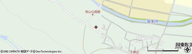 大分県国東市国東町浜崎745周辺の地図