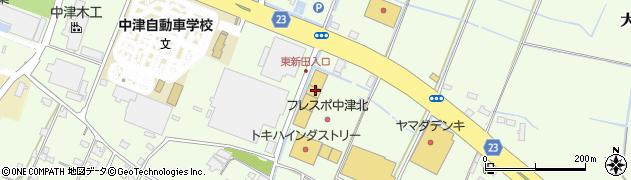 大分県中津市大新田6周辺の地図