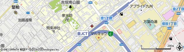 オフィスグリコ福岡東販売センター周辺の地図