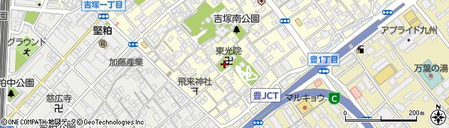 東光院周辺の地図