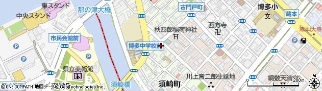 サクラ産業株式会社 福岡支店周辺の地図