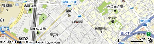 三陽物産株式会社 福岡支店周辺の地図