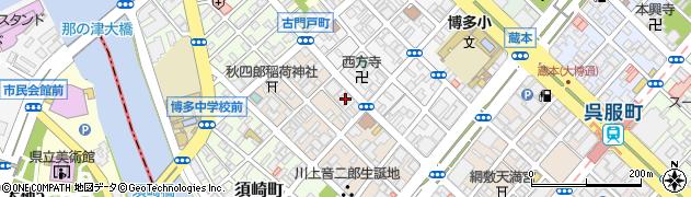 ぎんなん治療院周辺の地図