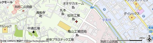 博多共同酸素株式会社周辺の地図